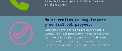 LOS 7 ERRORES MÁS COMUNES EN LA DIRECCIÓN DE PROYECTOS